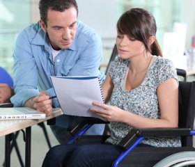 employee protected by disability insurance